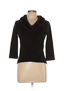 URCHIN Silk Pullover Sweater Size L