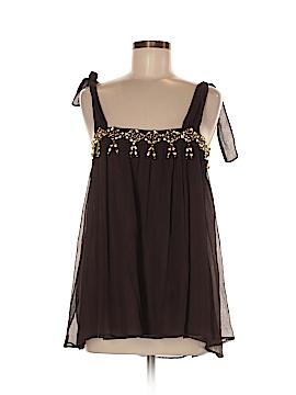 By Malene Birger Sleeveless Silk Top Size 38 (EU)