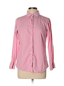 Steve & Barry's Long Sleeve Button-Down Shirt Size L