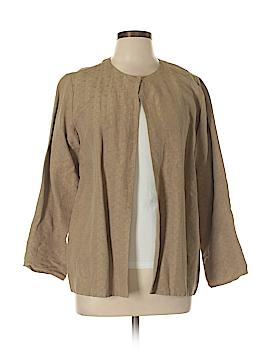 Eileen Fisher Silk Blazer Size L (Petite)