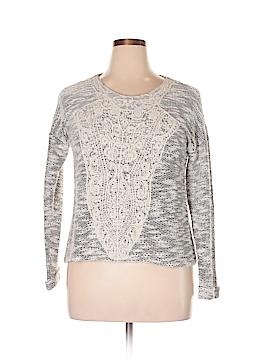Miami Style Pullover Sweater Size L