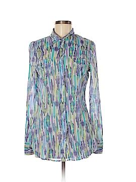 Tin Haul Long Sleeve Button-Down Shirt Size M