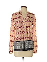 HD in Paris Women Long Sleeve Blouse Size 2
