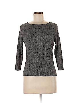 Valerie by Valerie Stevens 3/4 Sleeve Silk Top Size M