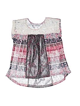 Ten Sixty Sherman Girls Short Sleeve Blouse Size S (Kids)