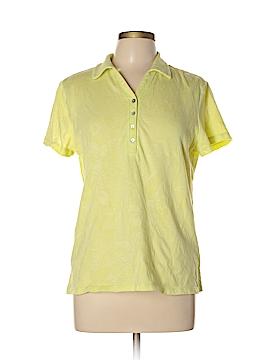 Caribbean Joe Short Sleeve Polo Size L