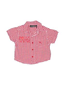 Rocawear Short Sleeve Button-Down Shirt Size 3-6 mo