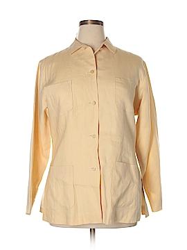 Jil Sander Long Sleeve Button-Down Shirt Size 14