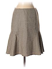 Ann Taylor Women Wool Skirt Size 0 (Petite)