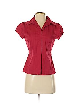 Ally B Short Sleeve Button-Down Shirt Size S