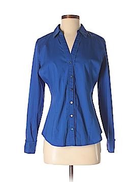 7th Avenue Design Studio New York & Company Long Sleeve Button-Down Shirt Size S