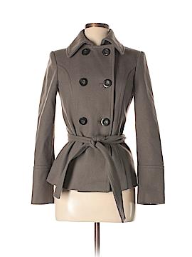Zara Basic Wool Coat Size XS
