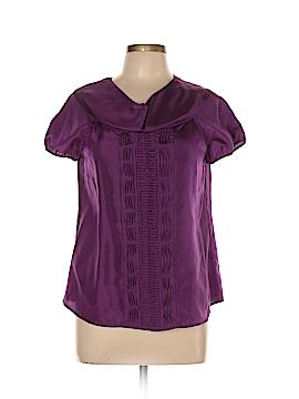 Cynthia Cynthia Steffe Short Sleeve Silk Top Size 10