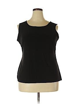 IMAN Sleeveless Blouse Size 1X (Plus)