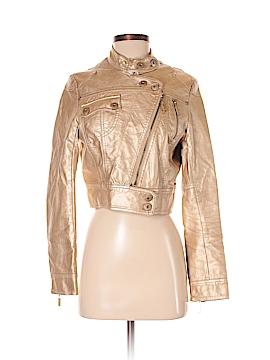 Neu Look Faux Leather Jacket Size S