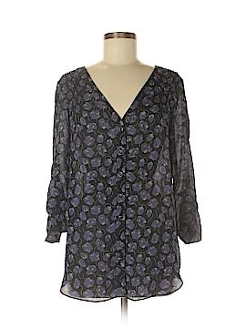 Shoshanna 3/4 Sleeve Silk Top Size 6