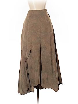 DANIER Leather Skirt Size 4