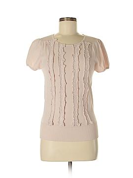 Pink Tartan Short Sleeve Top Size M