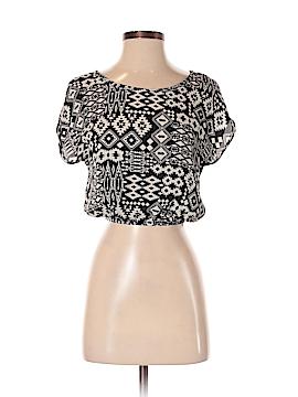 Kirra Short Sleeve Blouse Size S