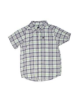 Quiksilver Short Sleeve Button-Down Shirt Size 7