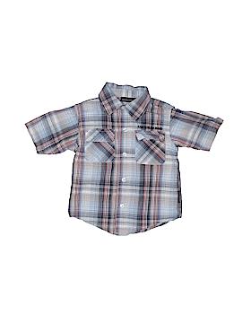 CALVIN KLEIN JEANS Short Sleeve Button-Down Shirt Size 2T