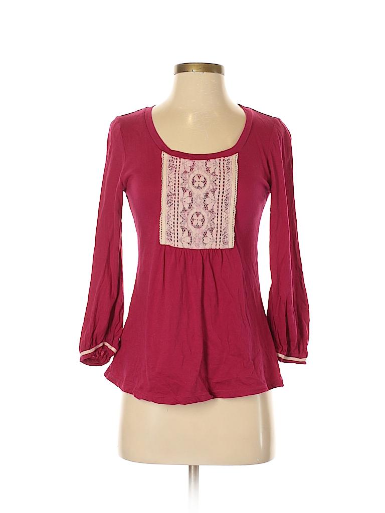 C. Keer Women 3/4 Sleeve Top Size S