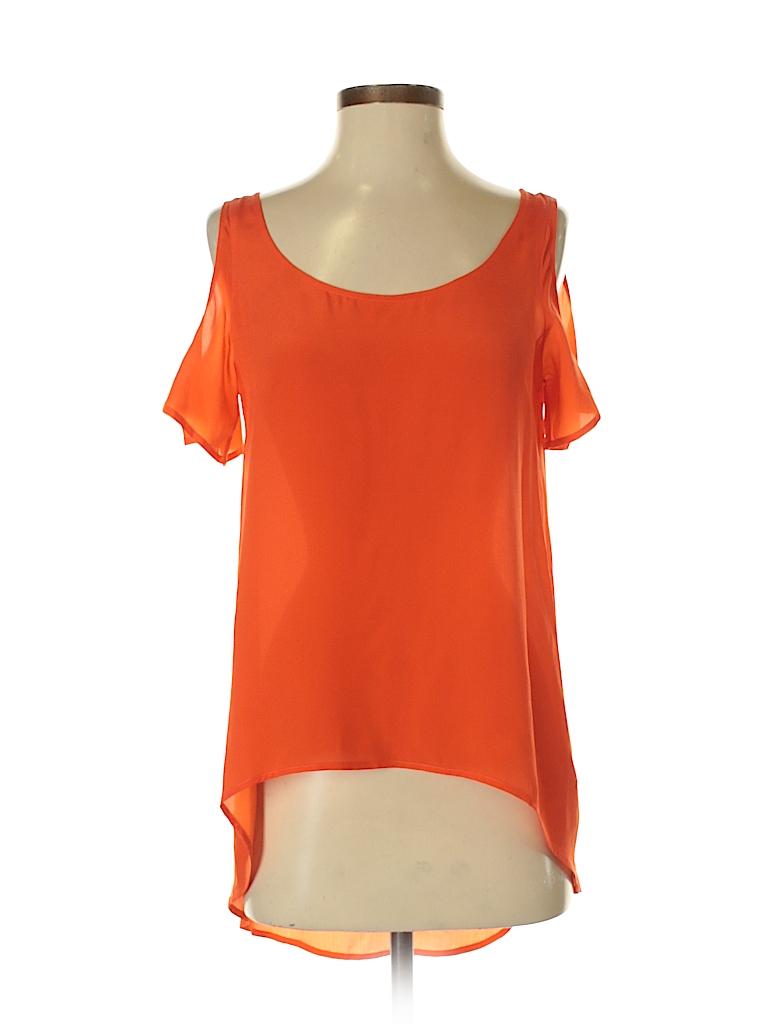 S.Y.L.K. Women Short Sleeve Blouse Size XS