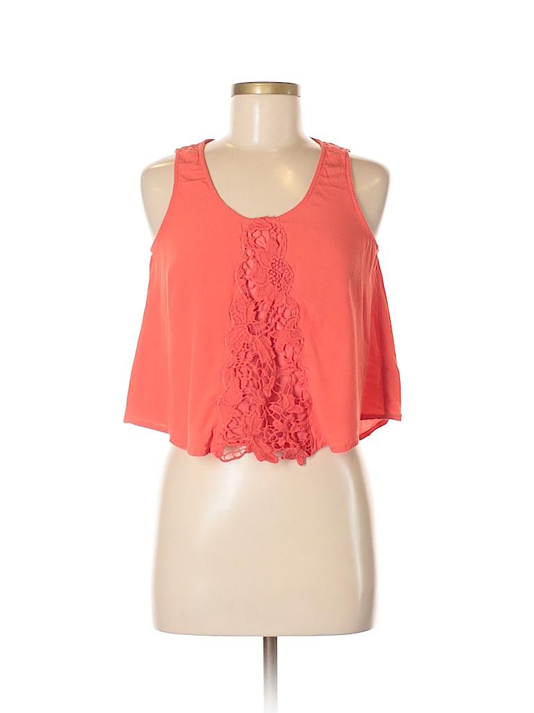 Lush Women Sleeveless Blouse Size S