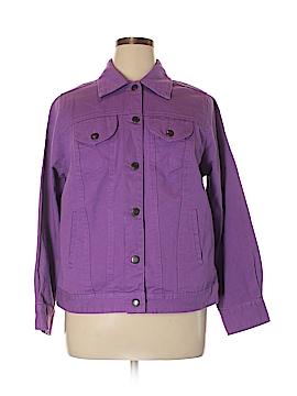Jessica London Denim Jacket Size 14