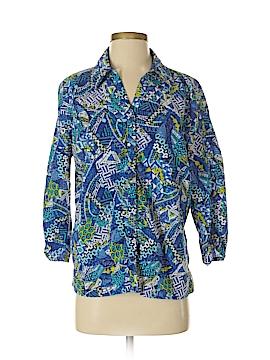 Erika Long Sleeve Button-Down Shirt Size M