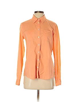 H Hilfiger Long Sleeve Button-Down Shirt Size S
