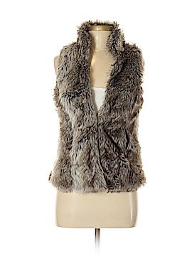 Only Faux Fur Vest Size S