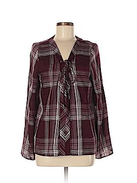 Maven West Long Sleeve Blouse Size M