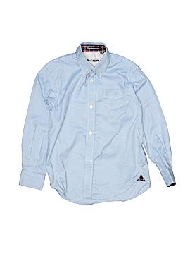 Hackett London Long Sleeve Button-Down Shirt Size 5