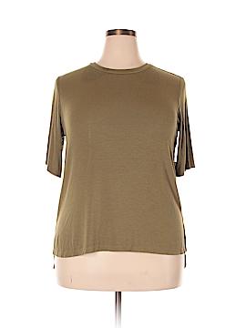Ava & Viv Short Sleeve Top Size 0X (Plus)