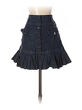 LUXE Denim Skirt Size 4