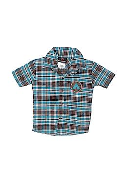 Airwalk Short Sleeve Button-Down Shirt Size 12 mo