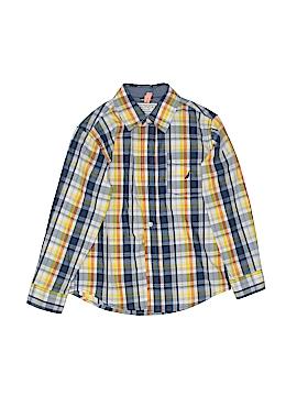 Nautica Long Sleeve Button-Down Shirt Size X-Large (Kids)
