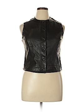 Banana Republic Leather Jacket Size 14