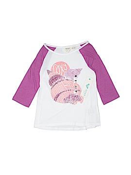 Roxy Girl 3/4 Sleeve T-Shirt Size 8 - 10