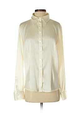 Liz & Co Long Sleeve Blouse Size M