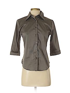 Ellemenno 3/4 Sleeve Button-Down Shirt Size S