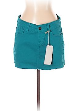 Zara TRF Denim Skirt Size 4