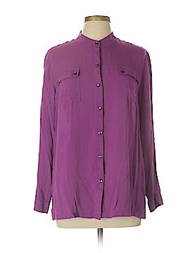 Jones New York Long Sleeve Blouse Size XL