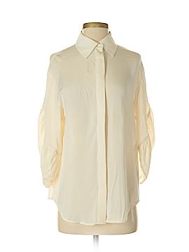 Catherine Malandrino 3/4 Sleeve Silk Top Size 4