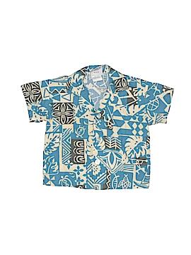 Nui Nalu Short Sleeve Button-Down Shirt Size 12 mo