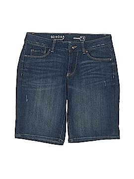 SONOMA life + style Denim Shorts Size 4