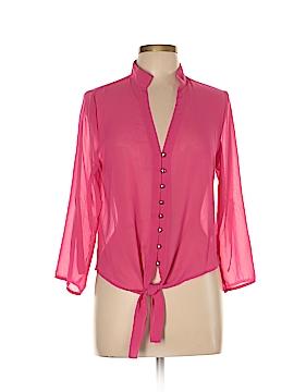 Active 3/4 Sleeve Blouse Size L