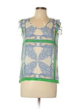 Paul & Joe Sister Short Sleeve Blouse Size Med (2)