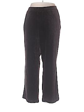 Lauren by Ralph Lauren Velour Pants Size 2X (Plus)